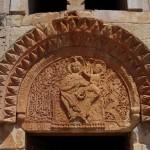 Armenia portale madonna con bambino