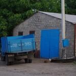 Armenia camion azzurro
