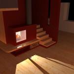scala in legno val di fiemme